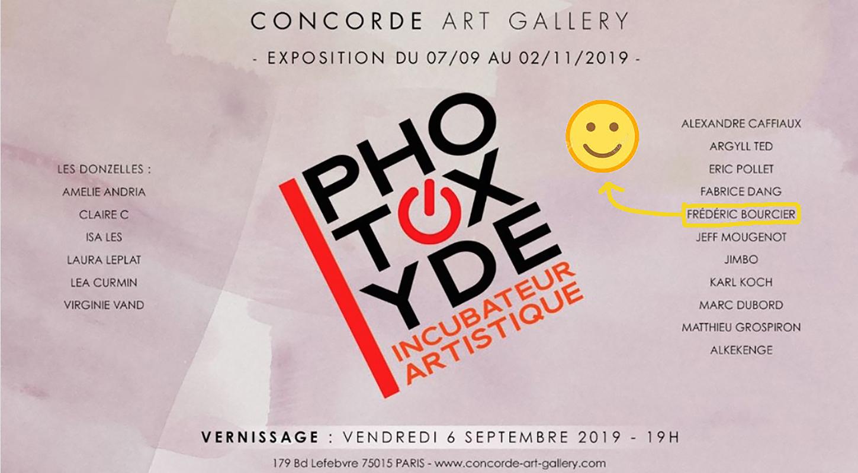 Exposition Photomathons et Morceaux Choisis à la galerie Concorde Art Gallery