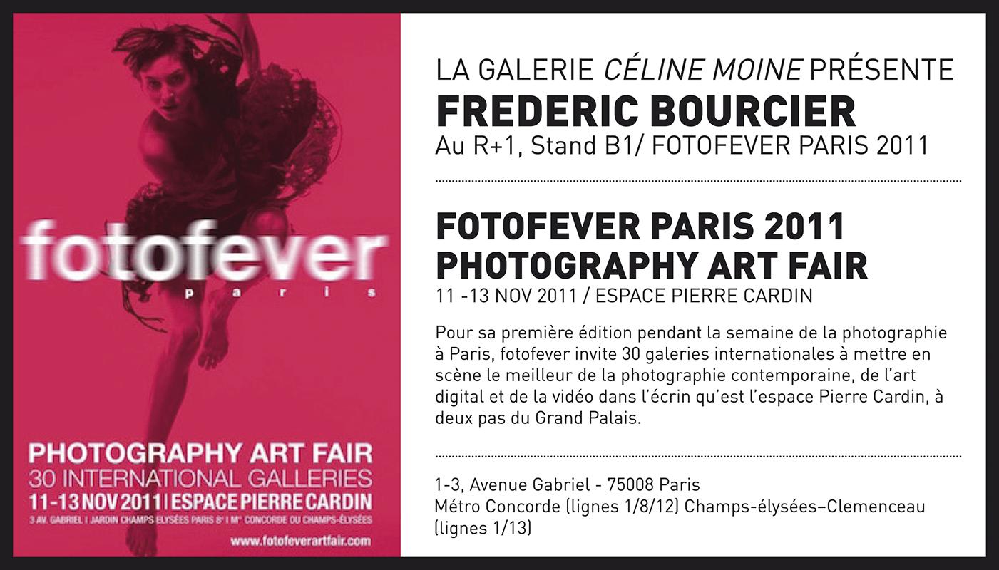 frederic bourcier photographe exposition fotofever 2011 galerie celine moine