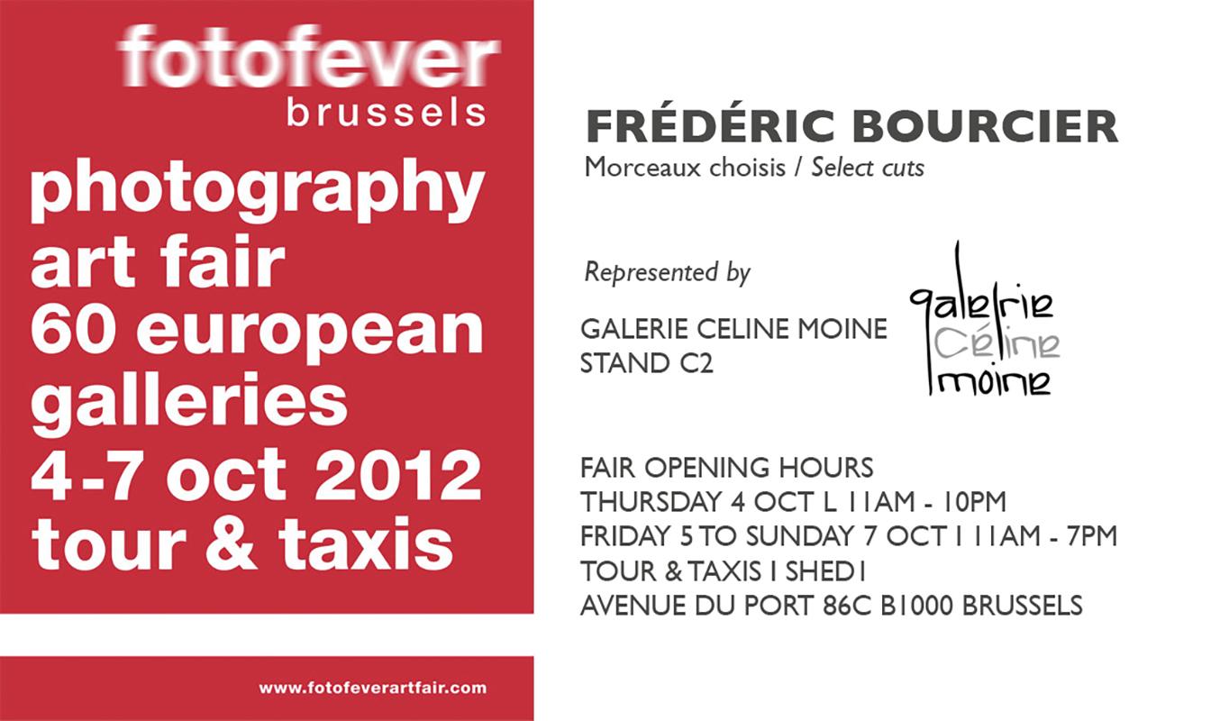 frederic bourcier photographe exposition fotofever brussels 2012 morceaux-choisis